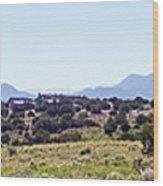 Landscape Galisteo Nm K10h Wood Print