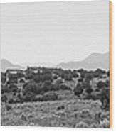 Landscape Galisteo Nm K10i Wood Print