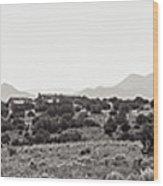 Landscape Galisteo Nm K10k Wood Print
