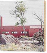 Landscape Galisteo Nm K10l Wood Print