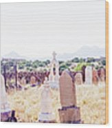 Landscape Galisteo Nm K10p Wood Print
