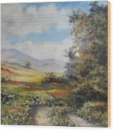 Landscape In Dilijan Wood Print by Tigran Ghulyan