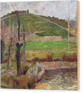 Landscape Near Pont-aven Wood Print