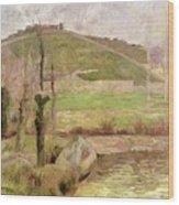 Landscape Near Pont Aven Wood Print