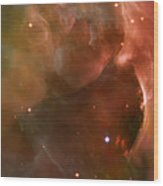Landscape Orion Nebula Wood Print