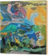 Landscape Palette Wood Print