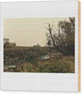 #landscape #stausee #mothernature #tree Wood Print