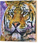 Landscape Tiger Wood Print