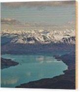 Landscapes Of Alaska Wood Print