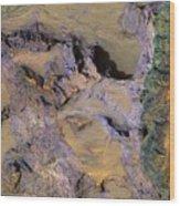 Landslide  Wood Print