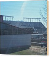 Lane Stadium Wood Print