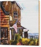 Langley Washington Wood Print