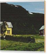 Langsund Wood Print
