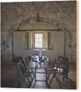 Languard Fort Wood Print