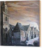 Lanrelas Church  Wood Print
