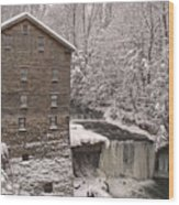 Lanterman's Mill Wood Print