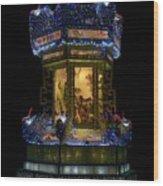 Lantern In The Dark Wood Print