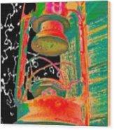 Lantern Wood Print