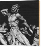 Laocoon And His Sons Aka Gruppo Del Laocoonte Wood Print