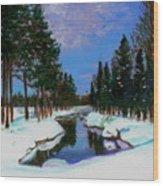 Lapland Wood Print