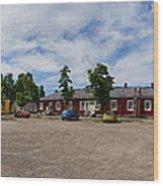 Lappeenranta Fortress Wood Print