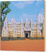 Larabanga Mosque Wood Print