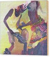Larakaraka Dance Wood Print