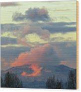 Wyoming Sunsets 1 Wood Print