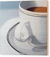 Large Coffee Cup Wood Print