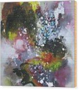 Large Color Fever Art23 Wood Print