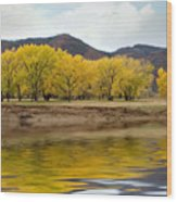 Las Animas Fall Wood Print