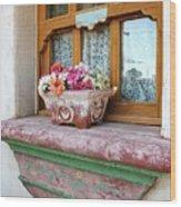 Las Flores Wood Print