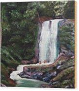 Las Marias Puerto Rico Waterfall Wood Print