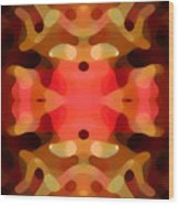 Las Tunas Abstract Pattern Wood Print