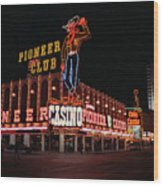 Las Vegas 1983 #1 Wood Print