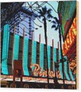 Las Vegas Lights II Wood Print