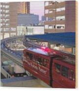 Las Vegas Monorail Wood Print