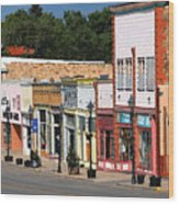 Las Vegas New Mexico Wood Print