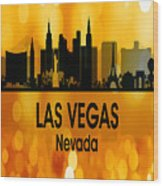 Las Vegas Nv 3 Vertical Wood Print