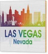 Las Vegas Nv  Wood Print