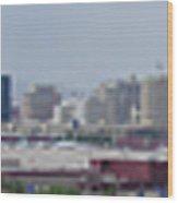 Las Vegas Panoramic View Wood Print