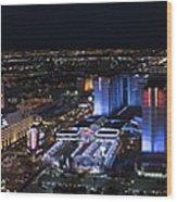 Las Vegas Strip 1 Wood Print