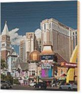 Las Vegas Strip Wood Print