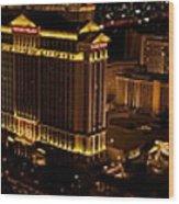 Las Vegas Strip I Wood Print