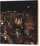 Las Vegas Strip II Wood Print
