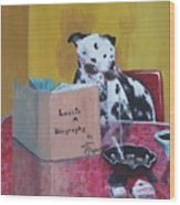 Lassie  A Biography Wood Print