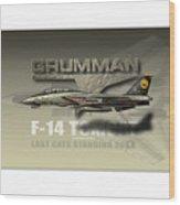 Last Cat Xxl Wood Print