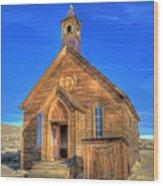 Last Church Standing Wood Print