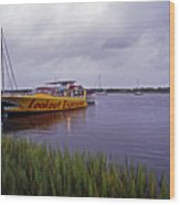Last Ferry To Lookout Wood Print