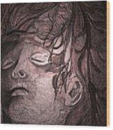 Last King Of Mars Wood Print